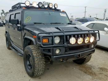Salvage HUMMER H2